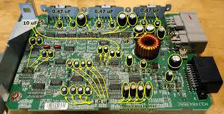 how to oem audio amp repair fix buzzing noise no volume