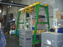jib crane wall bracket swing hoists spreader beams lifting