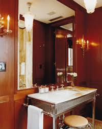 Red Powder Room Bath And Powder Rooms