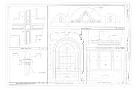 file window details lobby ceiling plan lobby column and coffered