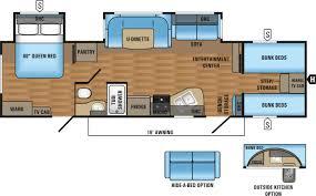 jay flight travel trailers floor plans jayco jay flight elite 31qbds 0660156 tcrv