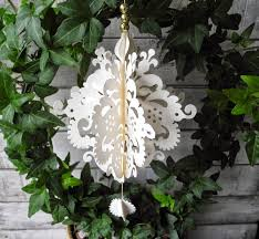 White Paper Christmas Decorations Uk by 162 Best Christmas Ornaments Images On Pinterest Holiday Ideas