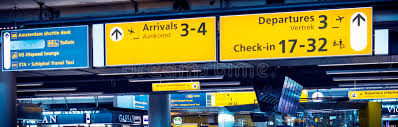 check in desk sign check in sign at airport editorial image image of flying 37453965