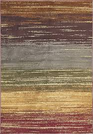 Modern Stripe Rug by Modern Fringeless Striped Rugs Area Carpets Floor Rug Home Decor