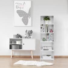 white 5 shelf bookcase south shore axess 5 shelf bookcase in pure white 7250758 the