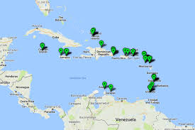 Map Caribbean Sea by Map The Best Hotels In The Caribbean 2017 Travel Us News