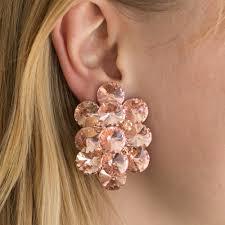 clip on earrings australia shop glow clip on earrings chagne online molten store