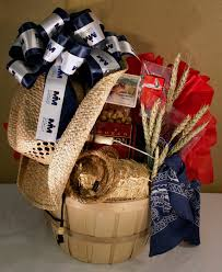 local gift baskets western themed basket mr whs basket ideas silent