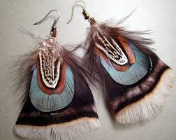 how to make turkey feathers 46 best feather earrings to make out of the stuff that kills