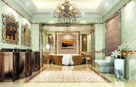 luxus badezimmer fliesen badgestaltung fliesen moderne design inspiration mit rot schwarz