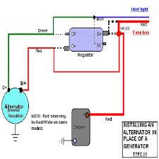 type 3 alternator conversion kit fits squareback notchback and