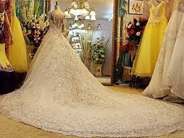 most expensive wedding gown these are the most expensive wedding dresses of all time