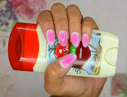 easy gel nail art tutorial japanese trend cheek nails チーク