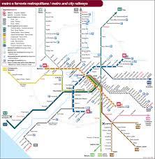 European Rail Map by Italy Train Rail Maps