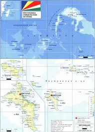 Seychelles Map Seychelles