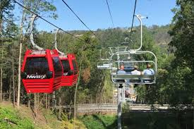 Chair Lift In Gatlinburg Anakeesta The Smoky Mountains Are Calling