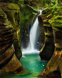 Ohio Waterfalls images Hunt for the elusive corkscrew falls in hocking hills state park jpg