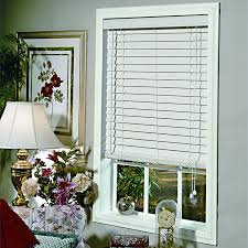 Home Decorators Collection 2 Inch Faux Wood Blinds Classic 2 Inch Faux Wood Blinds With Standard Valance And Wand