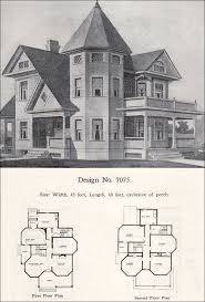 two story plus queen anne with tower and turret 1908 radford