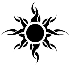 tribal sun and moon picture in 2017 photo pictures