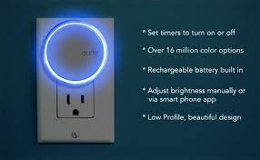 light switch color options the multicolored bluetooth enabled aumi is reinventing the night light