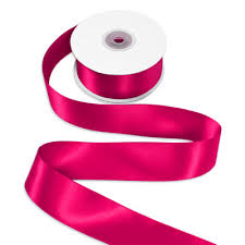 pink satin ribbon 1 1 2 hot pink satin ribbon 25 yards