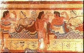 banchetti antica roma l uso dell olio d oliva e delle olive nella cucina etrusca