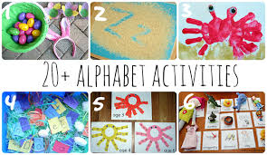 alphabet activities for young learners