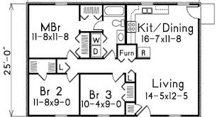 500 square feet floor plan house design and plans