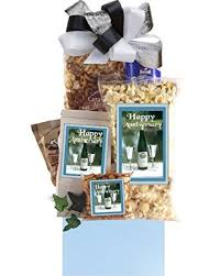 anniversary gift baskets happy anniversary gift basket gourmet snacks and