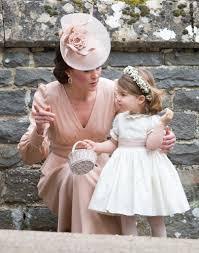 when she gave charlotte a flower pep talk at pippa u0027s wedding