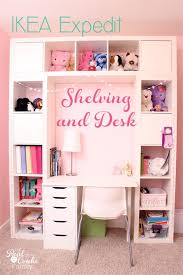 children s desk with storage ikea expedit turned into a great shelving unit with desk ikea