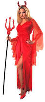 Halloween Costume Devil Devil Bettie Red Womens Halloween Costume