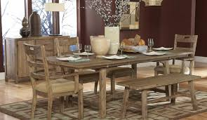 rustic dining room sets bench solid wood dining room sets awesome rustic dining bench