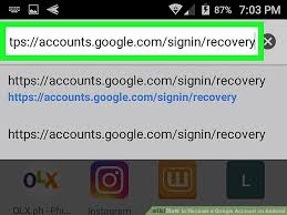 account recovery for android how to recover a account on android 6 steps