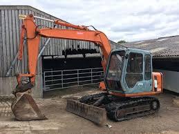 hitachi ex60 2 digger excavator export welcome in crewkerne