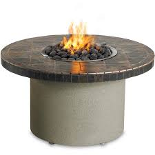 Personalized Fire Pit by 44 Inch Propane Ice N Fire Pit Table Lynx Sedona Round