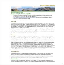 template for technical report engineering technical report template technical report sle