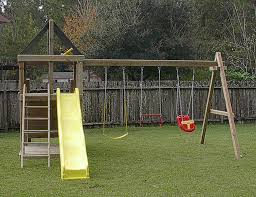 Apollo Redwood Fort Swingset And DIY Plans Gallery  Pinteres - Backyard fort designs