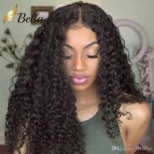 black women with 29 peice hairstyle brazilian human hair lace wigs for black women kinky curly lace