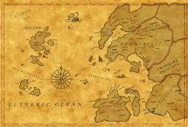 Elder Scrolls World Map by The Elder Scrolls Lore Thread Neogaf