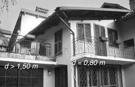 verande balconi le distanze tra edifici e parti accessorie balconi terrazze