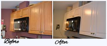 Kitchen Cabinets Refinished Refinished Kitchen Cabinets Before And After Preferred Home Design