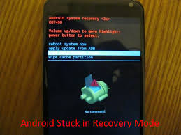 android boot into recovery fix android stuck in recovery mode and recover lost data
