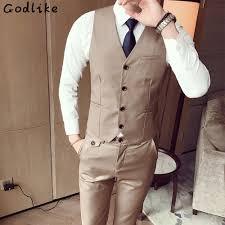 Men S Office Colors Godlike Only Vest Fashion Men U0027s Office Formal Business Best Man