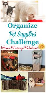 how to organize toys how to organize pet supplies