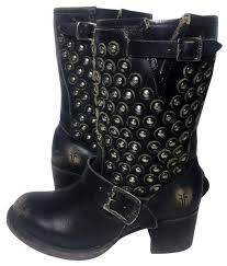 short black motorcycle boots frye black 76289 vera disc short leather motorcycle boots booties