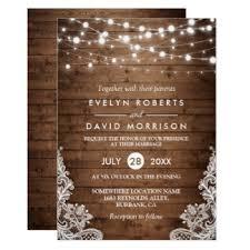 rustic country wedding invitations rustic wedding invitations zazzle