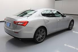 white maserati sedan used 2014 maserati ghibli for sale 38 980 vroom