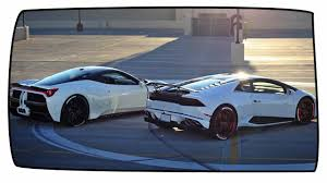 Lamborghini Huracan Wide Body - ferrari 458 italia and lambo huracan show off misha designs body